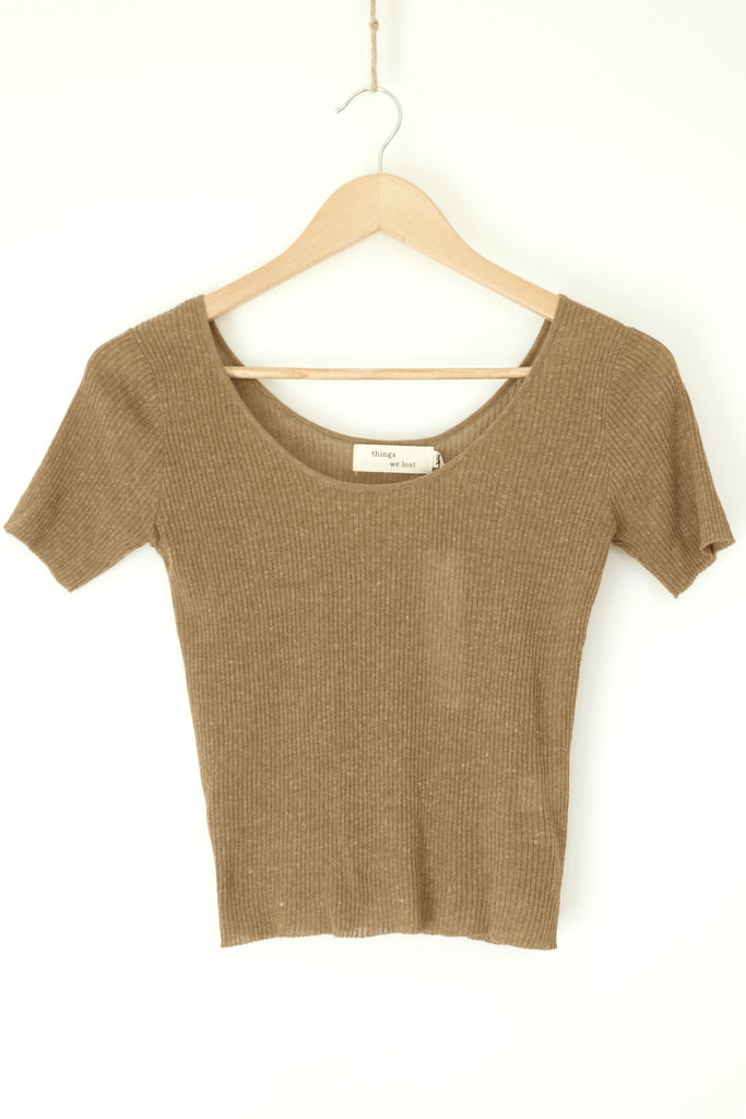 Scoop Neck Knit TWL351