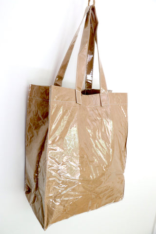 Paper or Plastic Shopper Bag