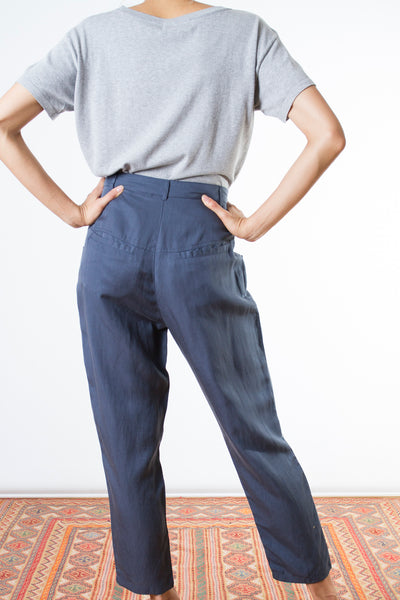 Side Button Pants TWL103