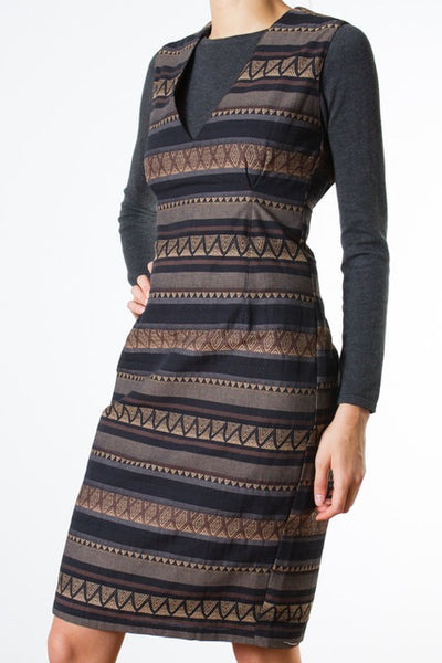 Zig Zag Dress TWL133