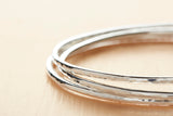 Sterling Silver Skinny Bangle