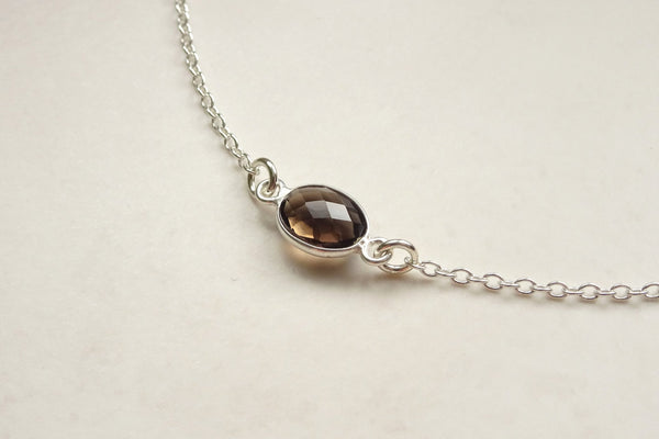 Smokey Quartz Choker