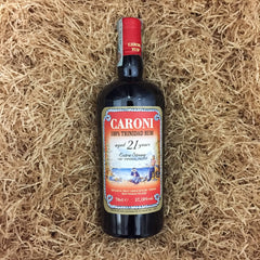 Caroni 100% trinidad rum 21 years extra strong 57,18% dist. 1996