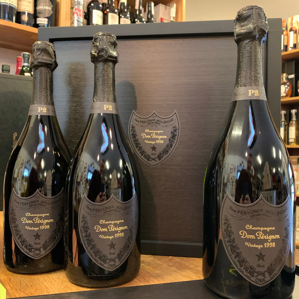 "Champagne Brut ""P2"" 1998 (Limited Edition Tri-Pack), 3 bottiglie"