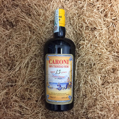 Caroni 100% trinidad rum 15 years extra strong 52% dist. 1998