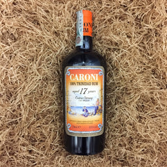 Caroni 100% trinidad rum 17 years extra strong 55% dist. 1998