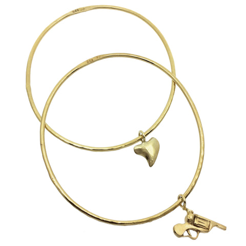 Curio Gold Delicate Bangle