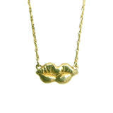 Curio Lips Necklace