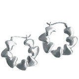 Curio Sharktooth Creole Hoops