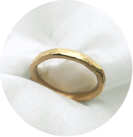 Luxe Gold Textured Band