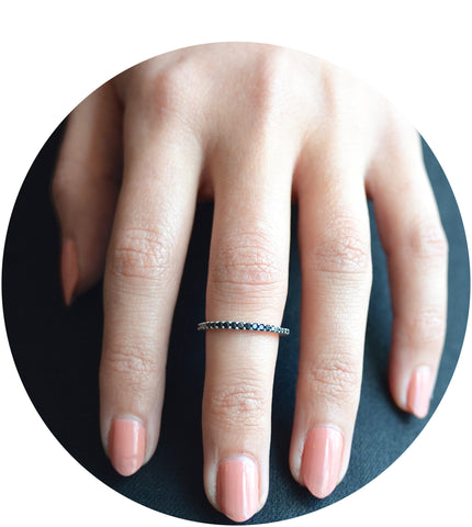 Sula Lux Half Eternity Ring