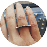 Pallenberg Crescent Diamond Ring