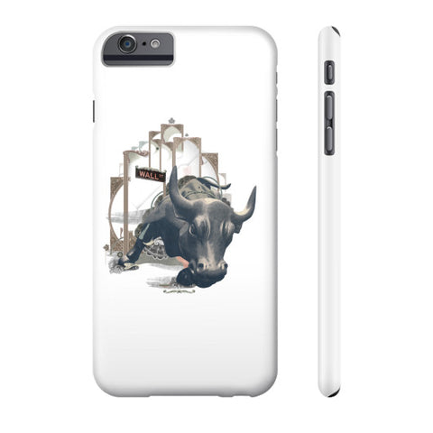 Charging Bull Phone Case - QUOTATIUM - 1