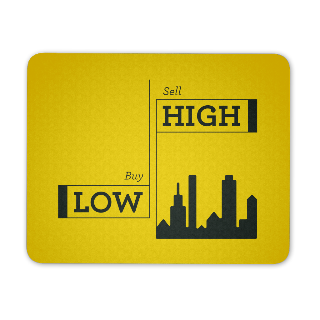 Bull low, sell high - Yellow - QUOTATIUM