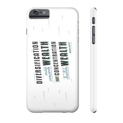 Diversification   Phone Case - QUOTATIUM - 1
