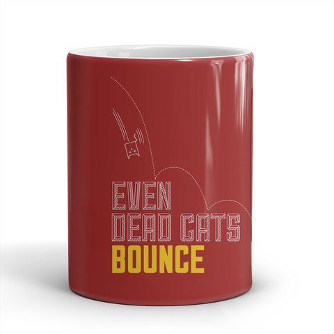 EVEN DEAD CATS BOUNCE (RED)