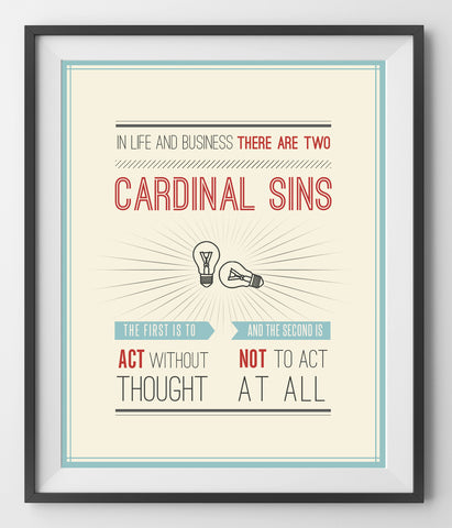 TWO CARDINAL SINS - QUOTATIUM - 1