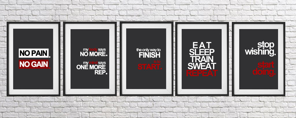fitness motivational poster, gym poster, motivational poster