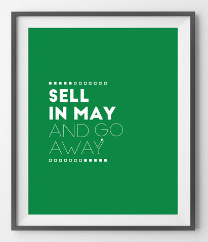 Sell in May and go away - QUOTATIUM - 1