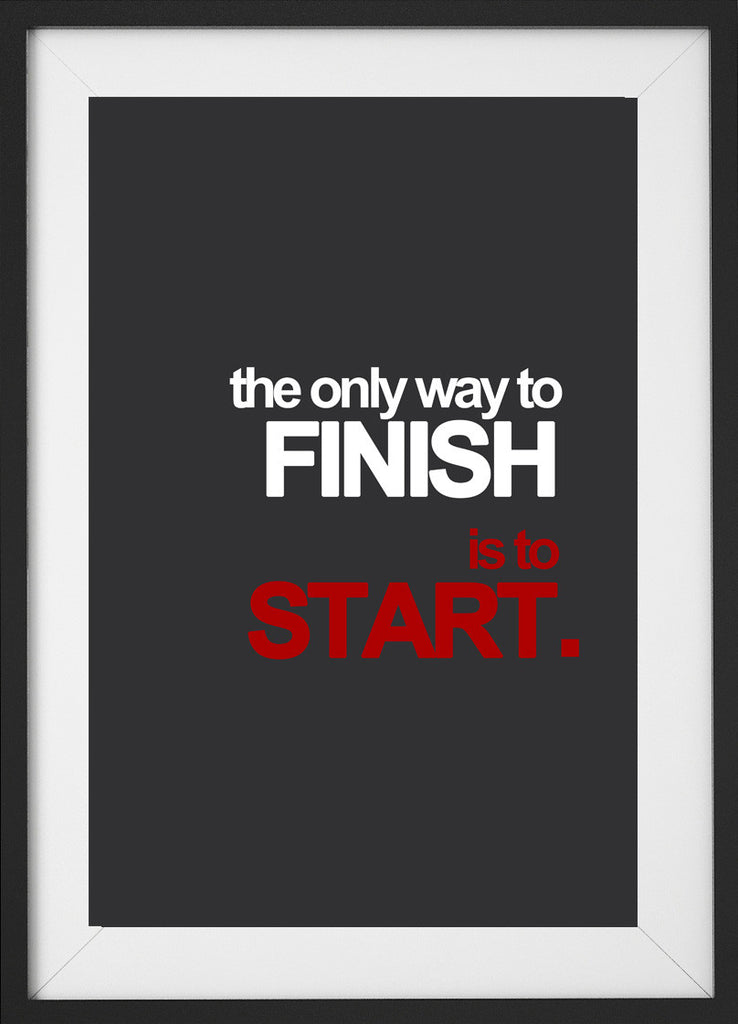 The only way. (Fitness Motivation) - QUOTATIUM