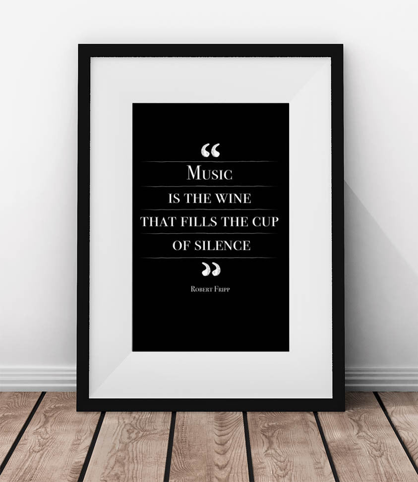 Music is the wine that fills the cup of silence. - QUOTATIUM