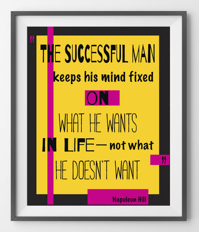 The successful man