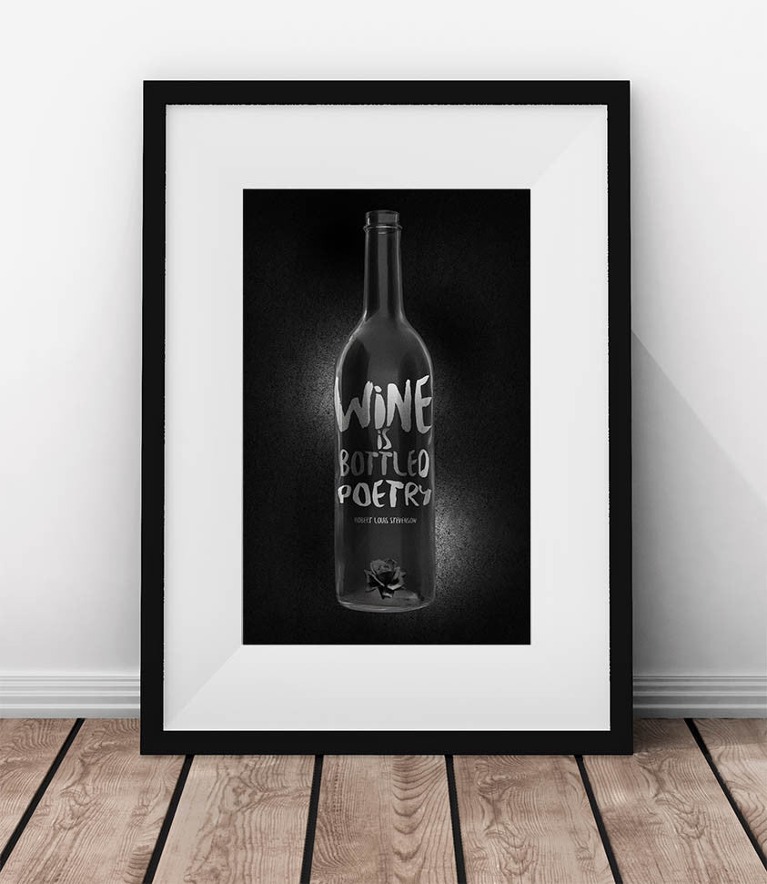Wine is bottled poetry - QUOTATIUM