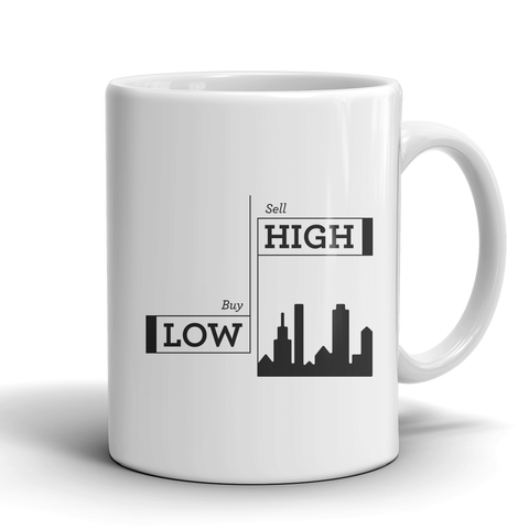 Buy Low, sell high mug