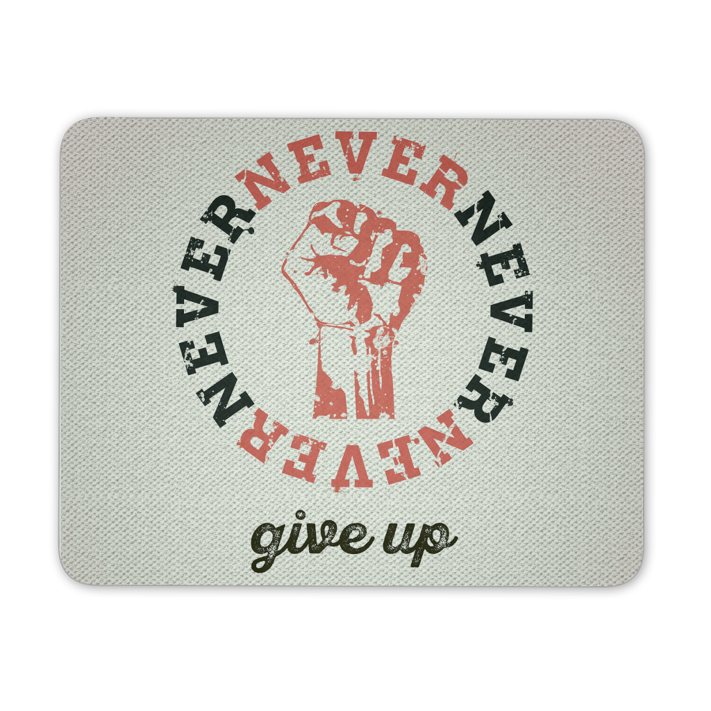 Never never never give up - QUOTATIUM