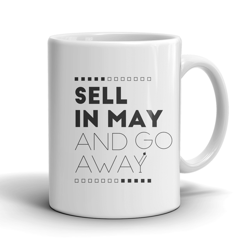 Sell in May and go away (White) - QUOTATIUM - 1