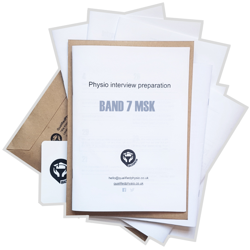 Band 7 MSK interview preparation pack