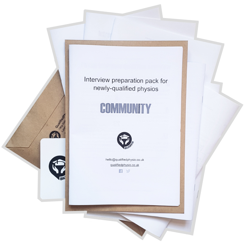 Community interview preparation pack