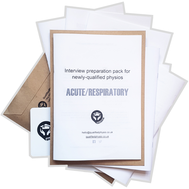 Acute / Respiratory interview preparation pack | QualifiedPhysio