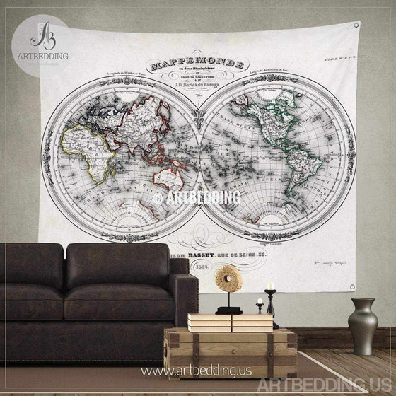Antique World Map Tapestry.Products Tagged Antique World Map Tapestry Artbedding