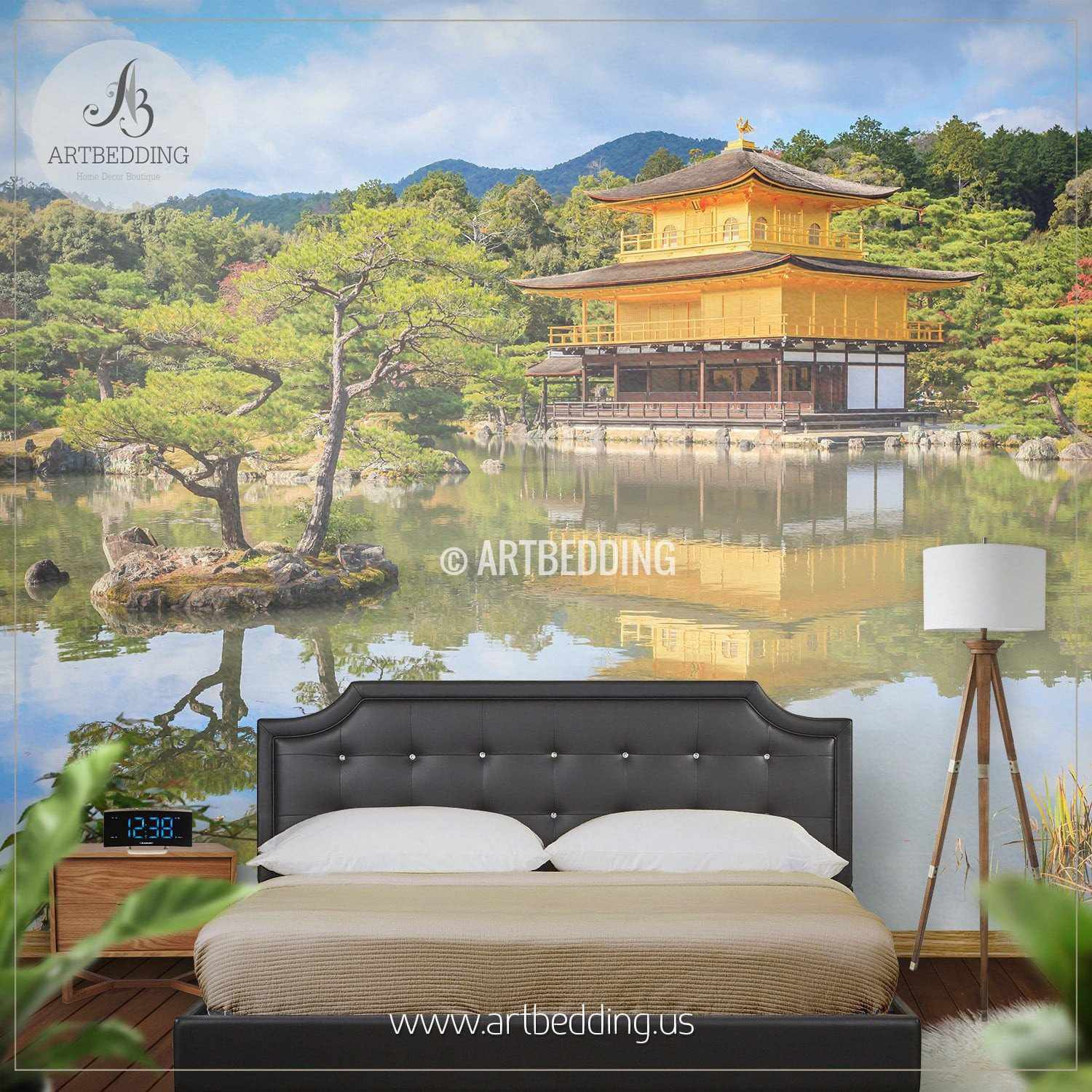 Autumn in Kyoto Japan Self Adhesive Peel Stick Nature wall mural
