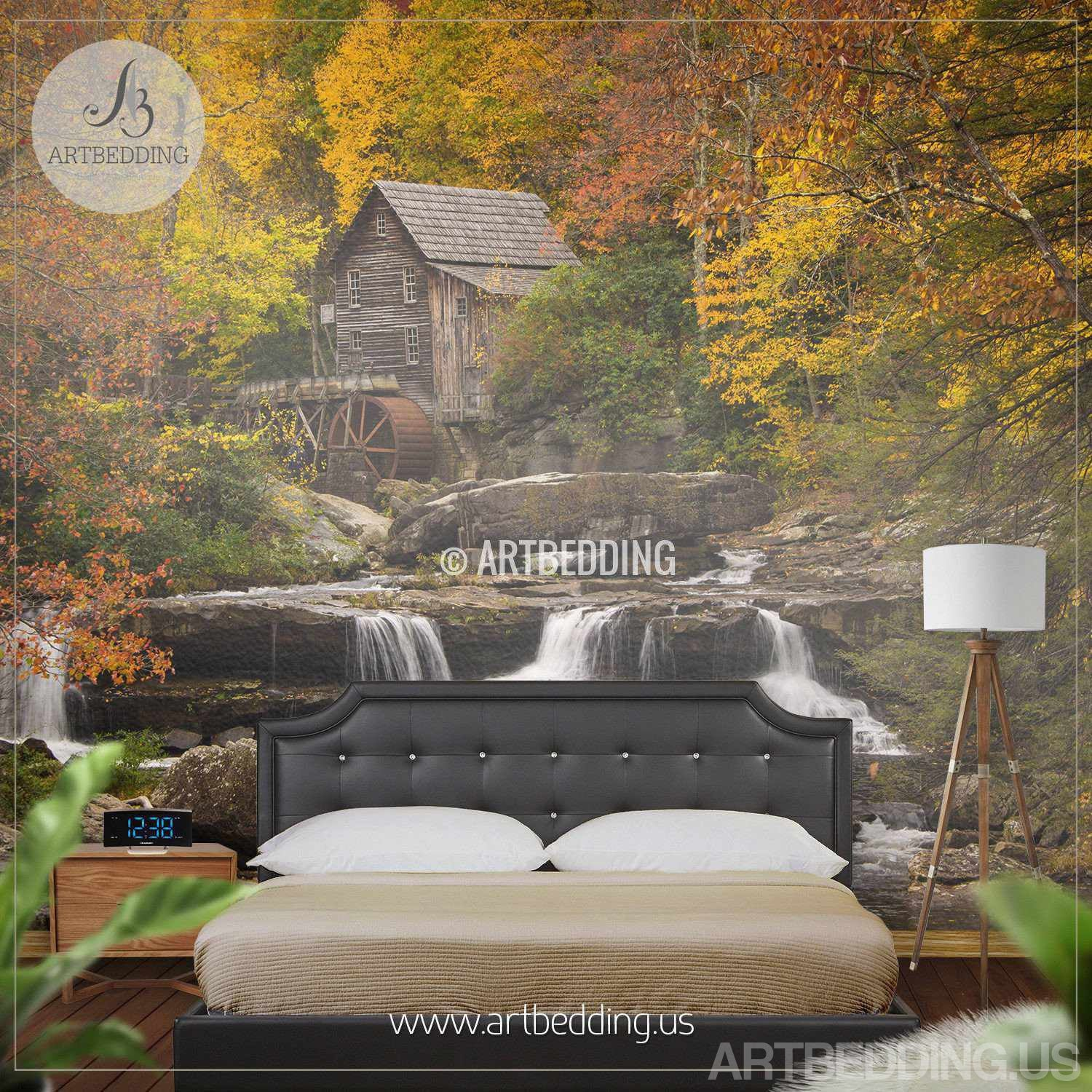 Wall murals wall tapestries canvas wall art wall for Wall scenes