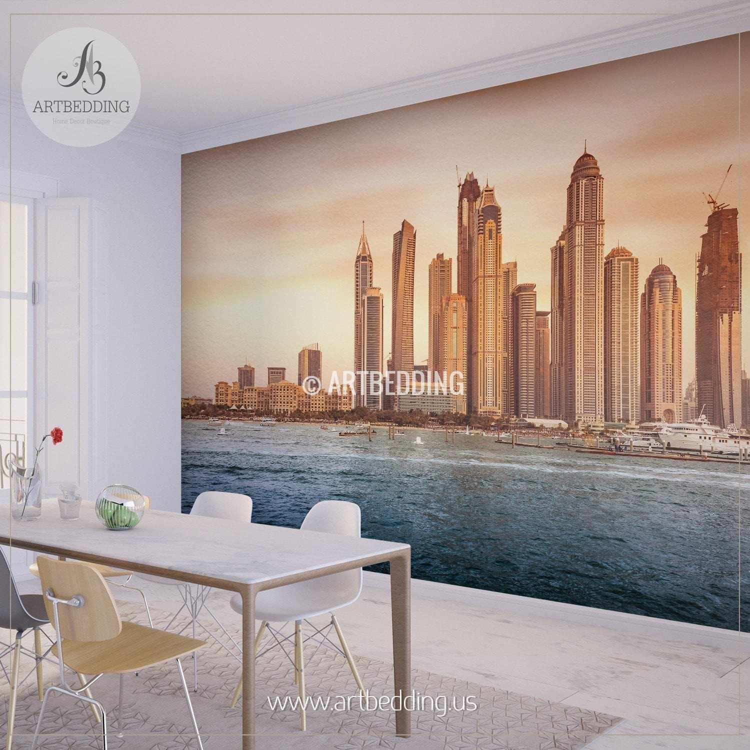 Beautiful dubai cityscape wall mural dubai photo sticker dubai beautiful dubai cityscape wall mural dubai photo sticker dubai wall decor wall mural amipublicfo Image collections