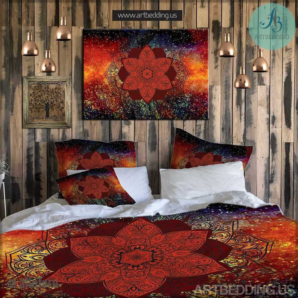 Mandala Bedding Personalized Bohemian Amp Mandala Bedding