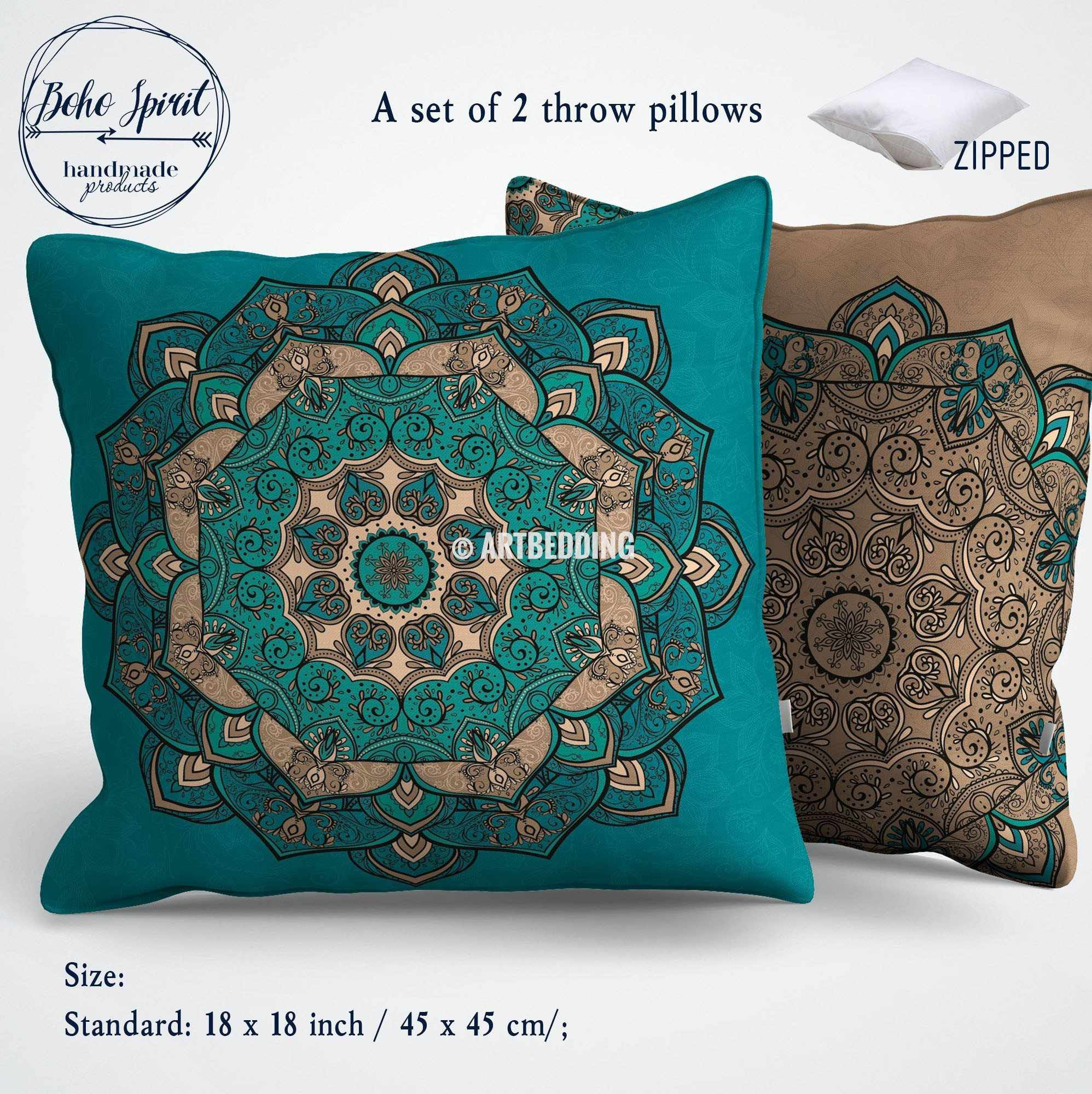 single utopia pillows steel pillow grey sets products throw alley alena or gray decorative embroidered