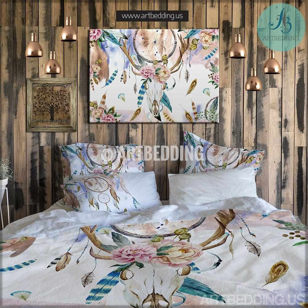 mandala bedding | personalized bohemian & mandala bedding sets