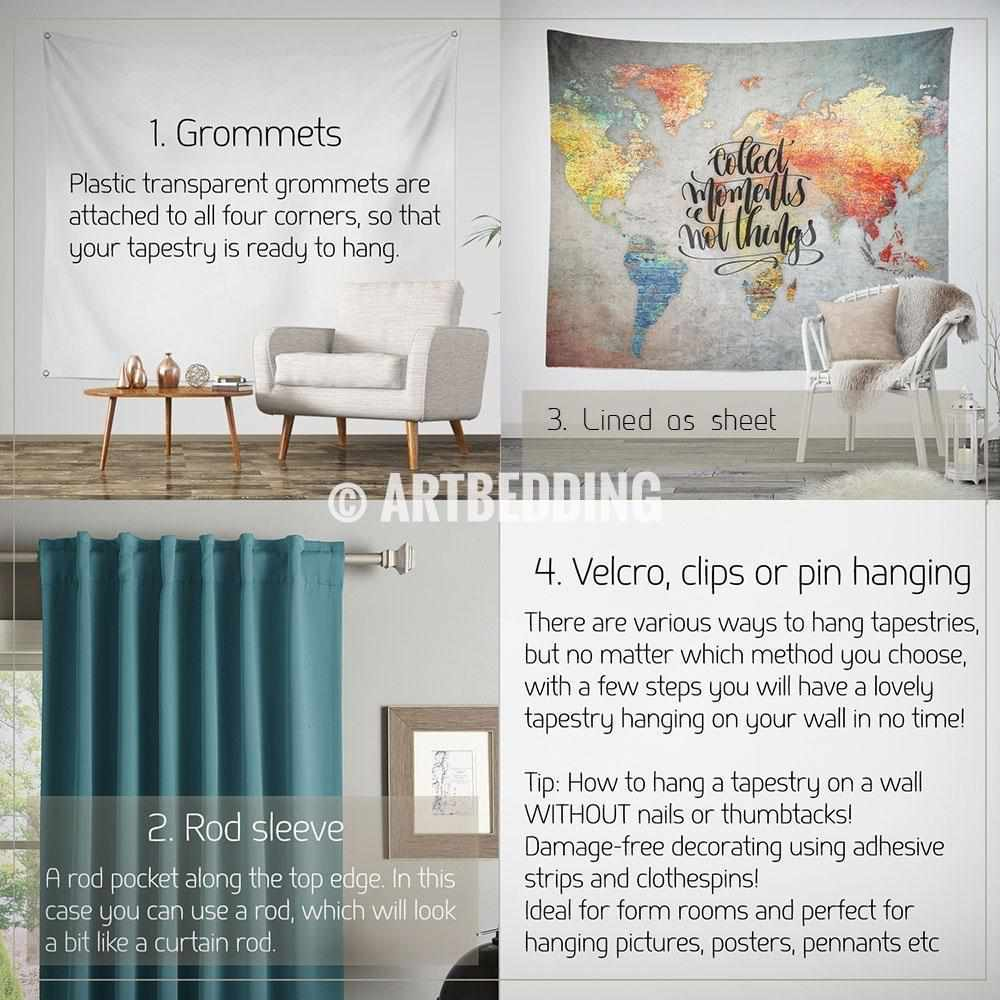 Concrete wall world map inspiration tapestry abstract world map concrete wall world map inspiration tapestry abstract world map wall hanging bohemian travel wall gumiabroncs Image collections