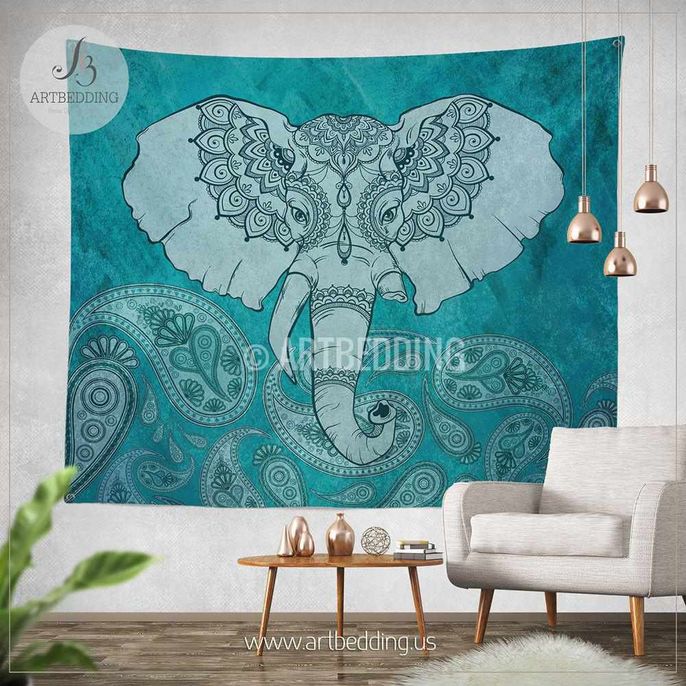 Interesting 50 elephant wall decor design ideas of best for Indie wall art ideas
