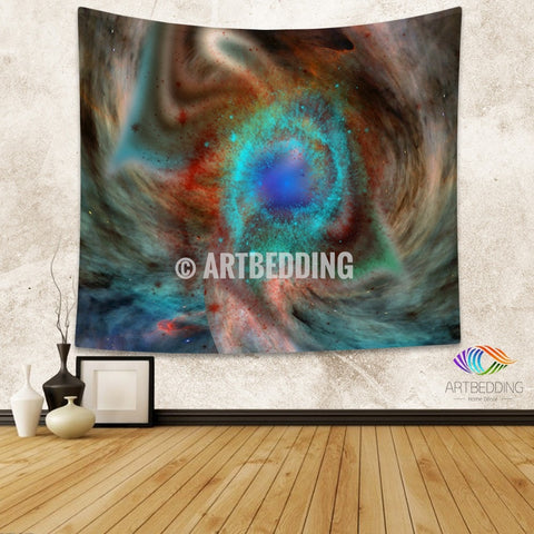 Galaxy Tapestry, 3D Cosmos milky nebula with stars wall tapestry, Galaxy tapestry wall hanging, Stars galaxy wall tapestries, Galaxy home decor, Space wall art print, Space wall hanging, Purple and gold nebula galaxy wall art