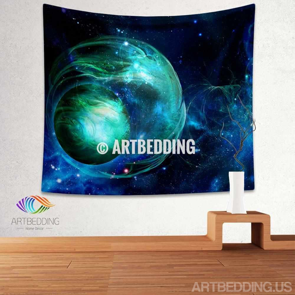 ... Galaxy Tapestry, Fantasy Space Wall Tapestry, Galaxy Tapestry Wall  Hanging, Galaxy Home Decor ...