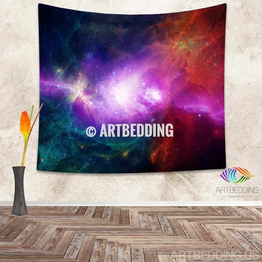 ... Galaxy Tapestry Multicolor deep space nebula wall tapestry Birth of a star Galaxy tapestry ... & Galaxy Tapestry Multicolor deep space nebula wall tapestry Birth ...