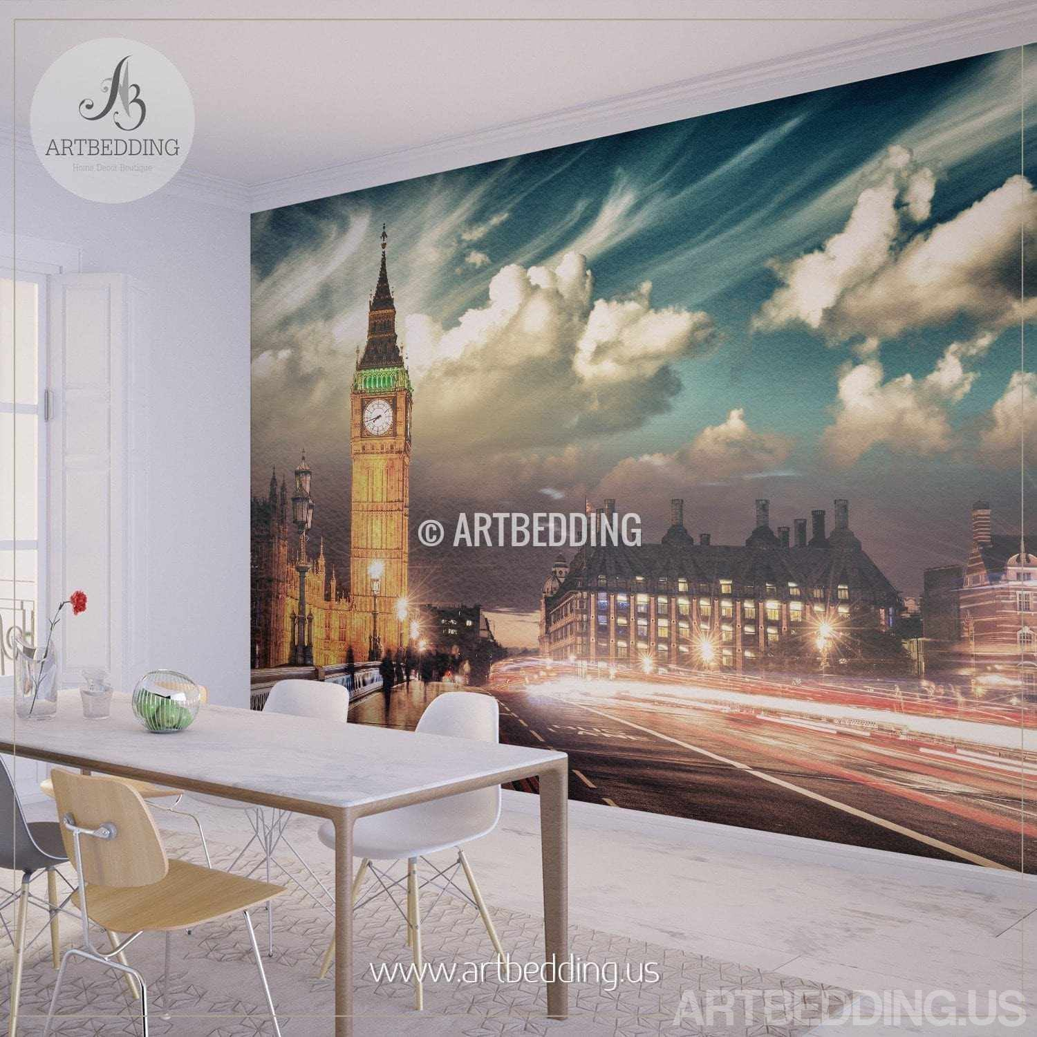 London big ben wall mural london city photo mural london for City wall mural