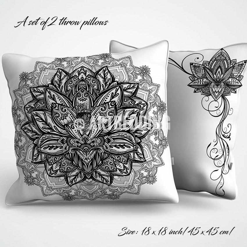 Lotus flower duvet bedding set sacred mandala duvet cover set lotus flower duvet bedding set sacred mandala duvet cover set bohemian bedding boho mightylinksfo