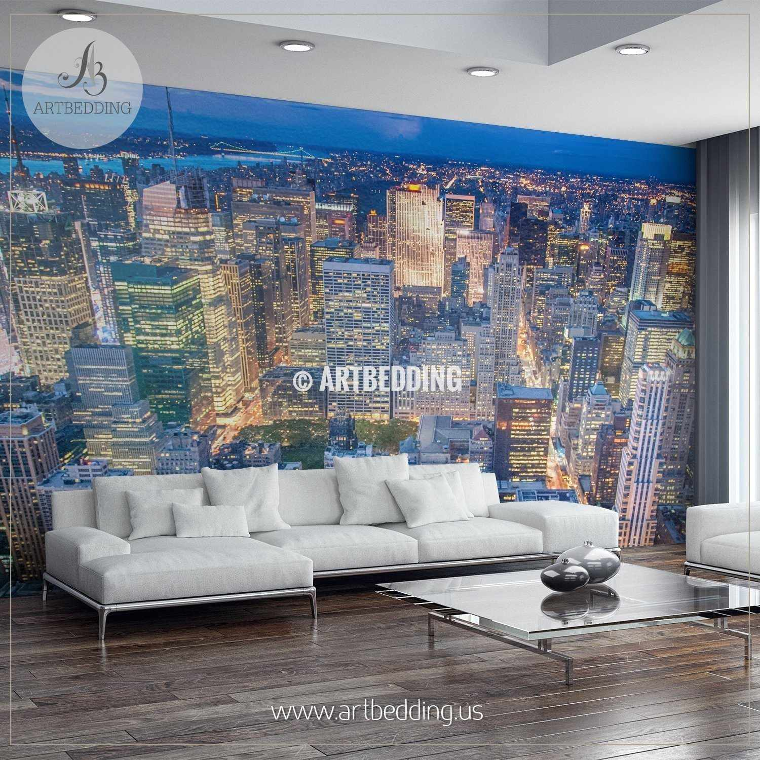 new york city skyline wall mural usa photo mural usa wall décor