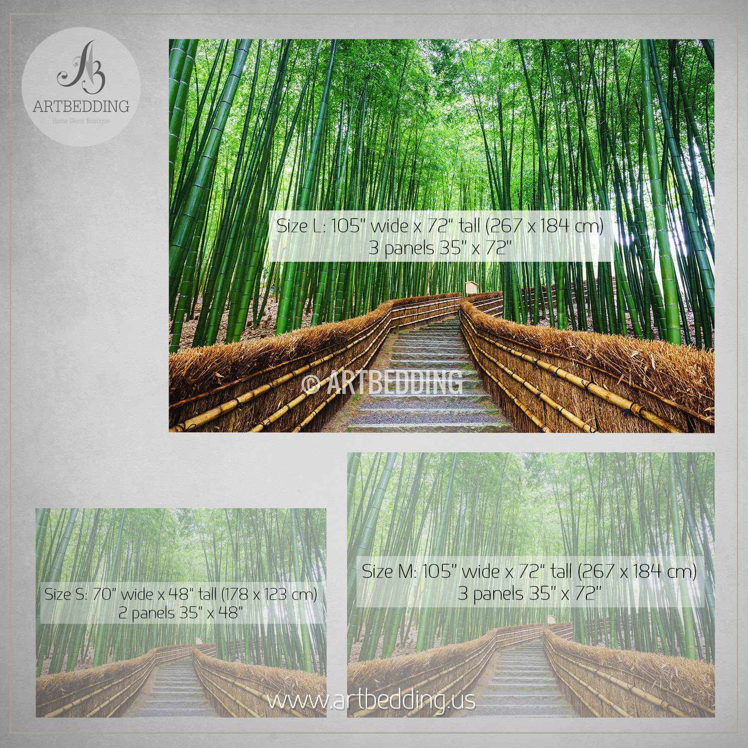path to the bamboo forest self adhesive peel stick nature wall path to the bamboo forest self adhesive peel stick nature wall mural wall mural
