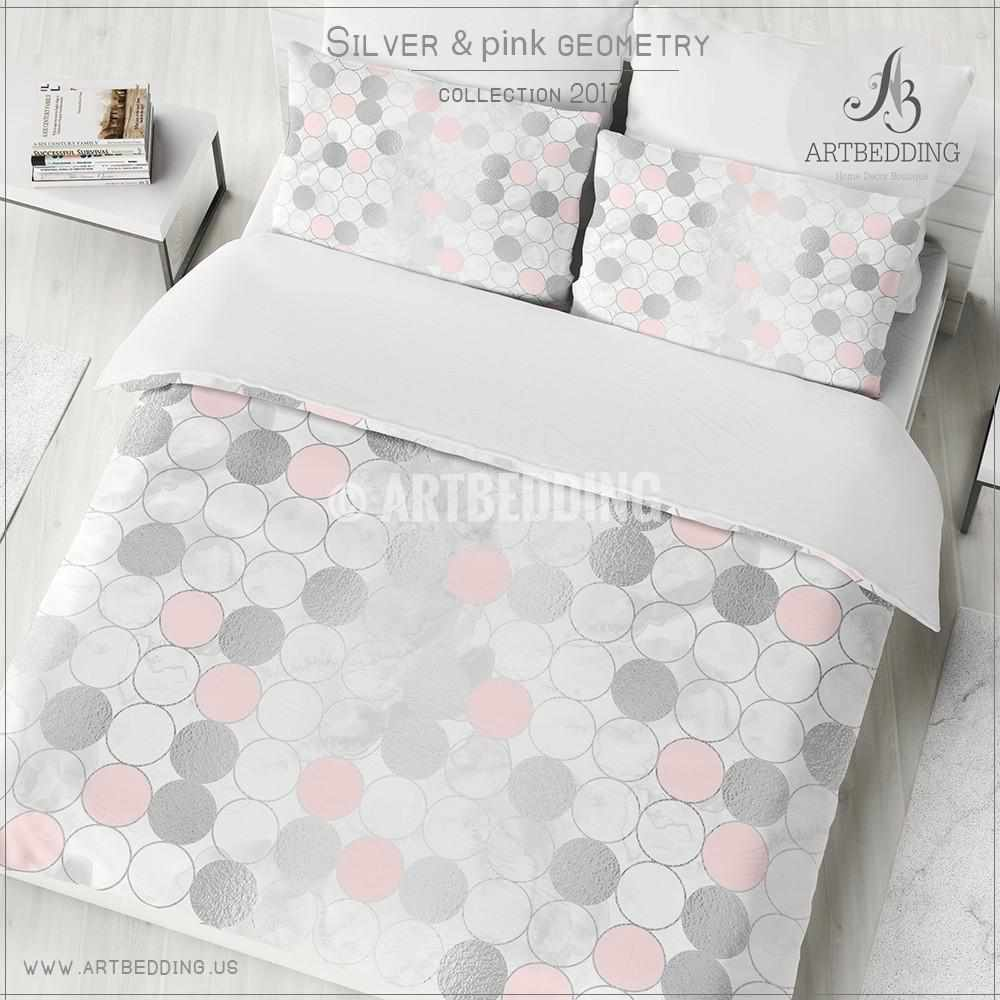 blush pintuck decor bedding set bedroom sidezoom crane and pink valencia cover the products duvet inspiration canopy
